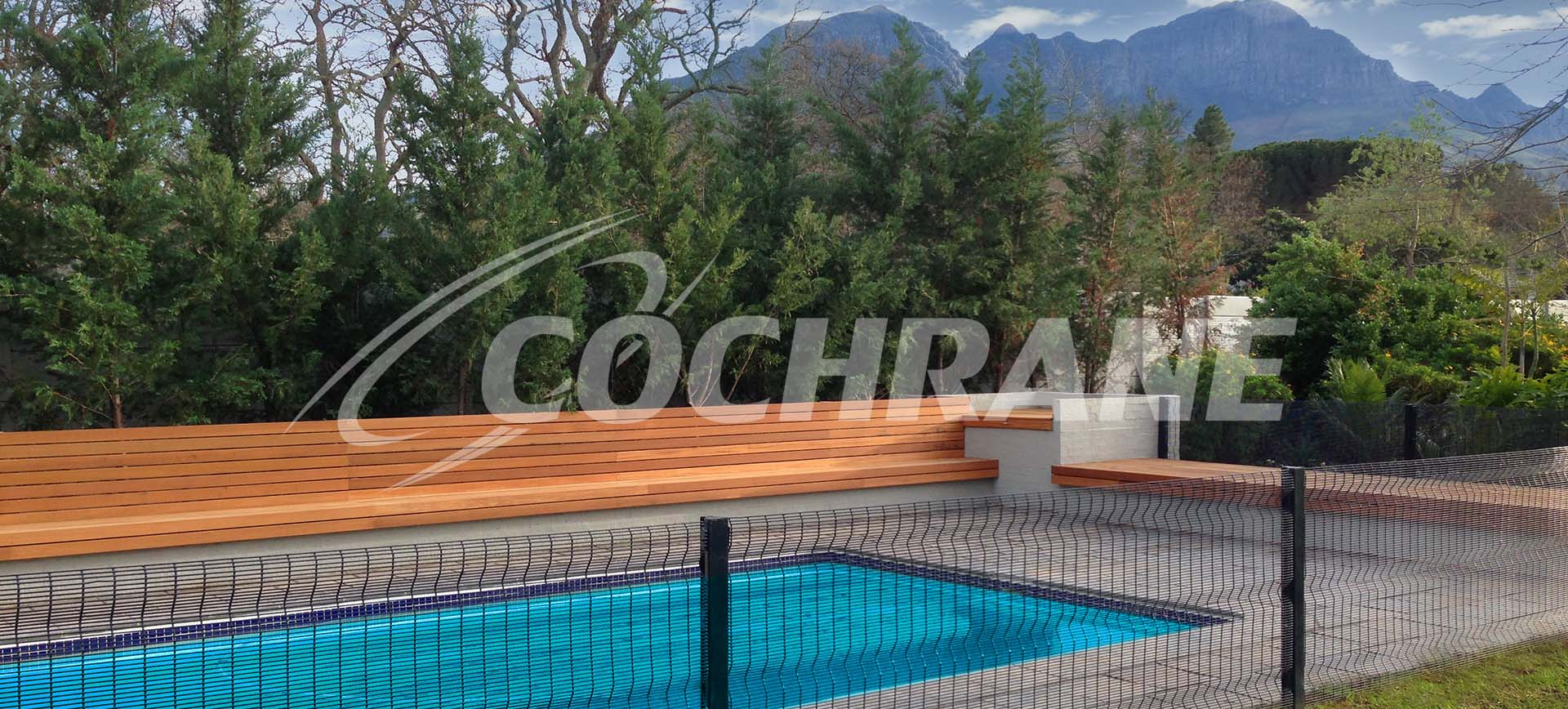 Pool Fence Cochrane Clearvu Invisible Wall Worlds Only Design Inspired